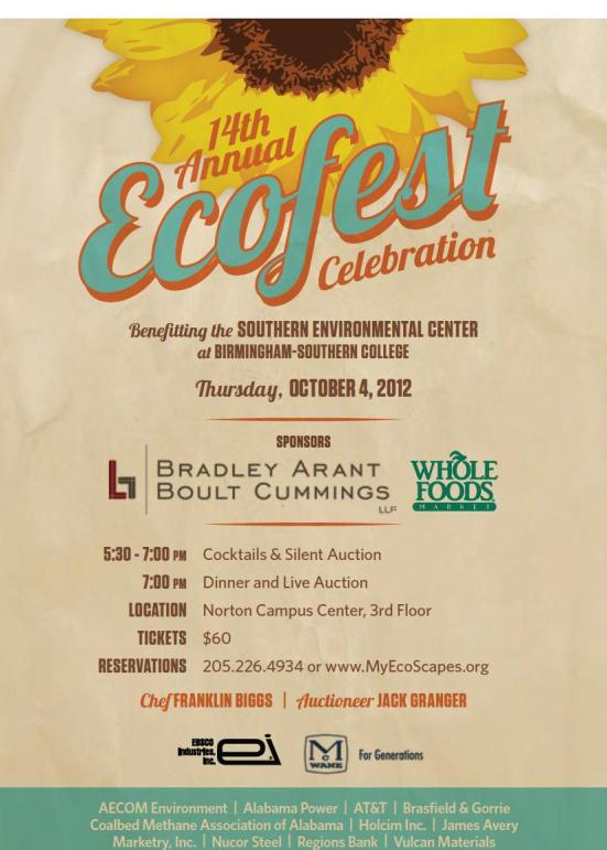 14th Annual EcoFest Celebration